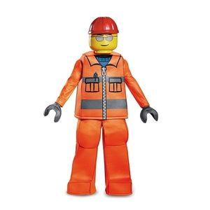Lego Costumes - LEGO Construction Worker Halloween Costume Large  sc 1 st  Poshmark : construction worker halloween costume  - Germanpascual.Com